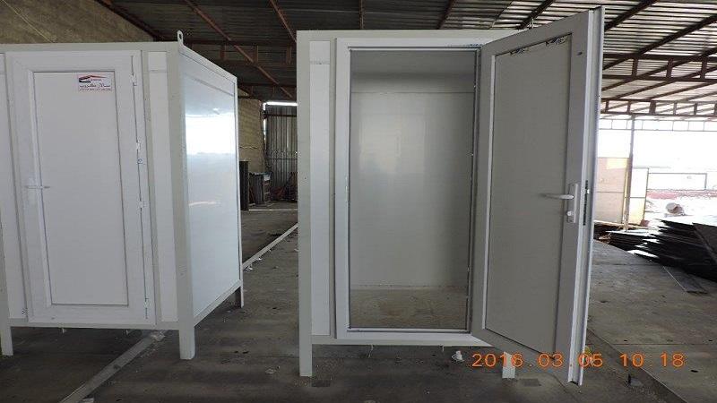 Prefab Bathroom Cabins. Individual Plastic